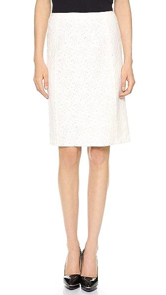 Nina Ricci Soft Lace Pencil Skirt