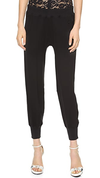 Nina Ricci Cropped Jogging Pants