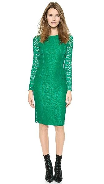 Kupi Nina Ricci haljinu online i raspordaja za kupiti Nina Ricci Long Sleeve Dress Cypress online