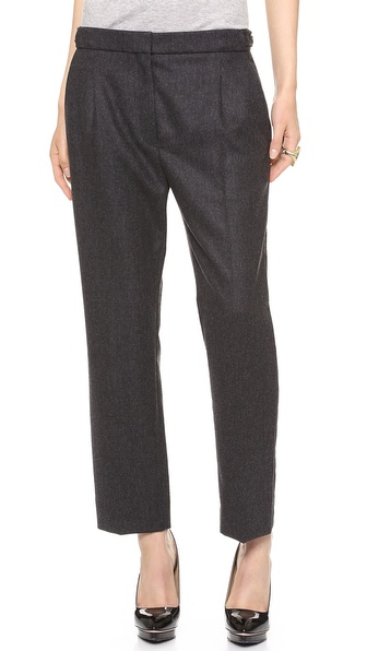Nina Ricci Slim Wool Trousers