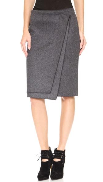 Nina Ricci Wool Skirt