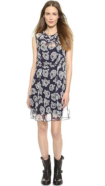 Kupi Nina Ricci haljinu online i raspordaja za kupiti Nina Ricci Floral Organza Dress Marine online