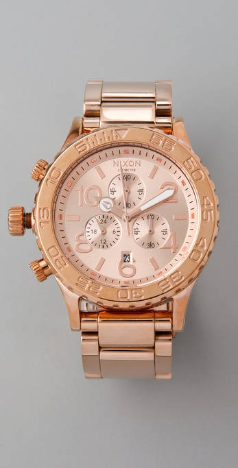 Nixon Oversized Chrono Watch
