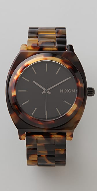 Nixon Time Teller Acetate Watch