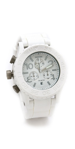 Nixon The Rubber 42-20 Chrono Watch