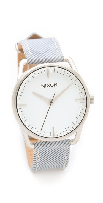 Nixon The Mellor Pinstripe Watch