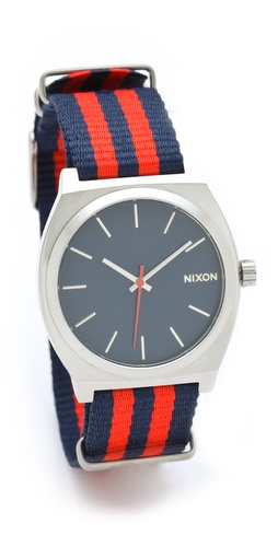 Nixon The Time Teller Navy Watch