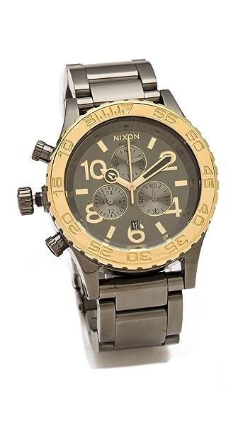 Nixon The Hudson St. 42-20 Chrono Watch