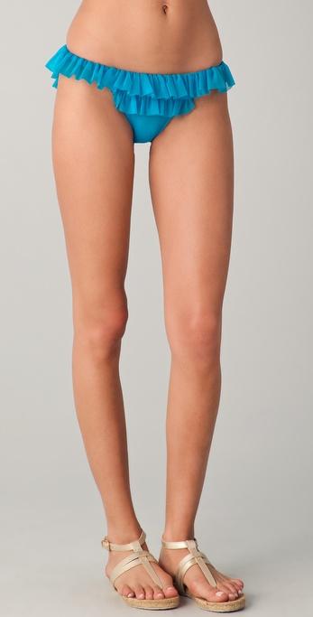 Norma Kamali Ruffle Bikini Bottoms