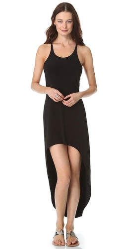 Norma Kamali Racer Super High / Low Dress