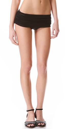 Norma Kamali Mesh Bill Bikini Bottoms