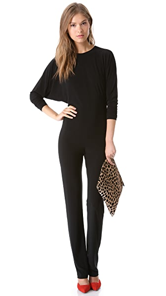 Norma Kamali Open Back Jumpsuit