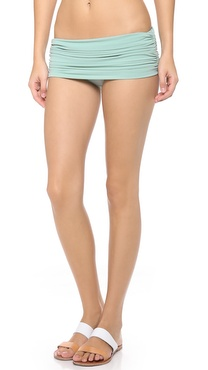 Norma Kamali Low Rise Bill Bikini Bottoms
