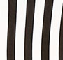 Black/Off White Stripe