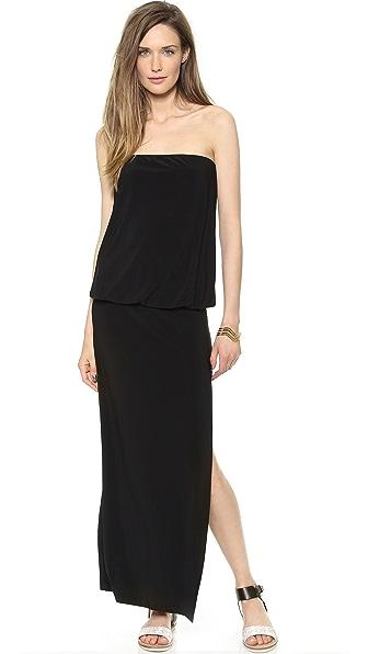 Kupi Norma Kamali haljinu online i raspordaja za kupiti Norma Kamali Kamali Kulture Strapless Baby Doll Gown Black online
