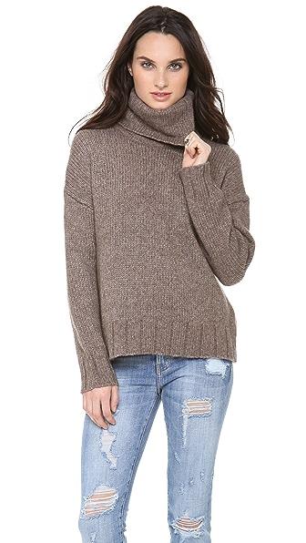 Nili Lotan Oversized Turtleneck Sweater