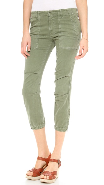Nili Lotan Cropped Military Pants