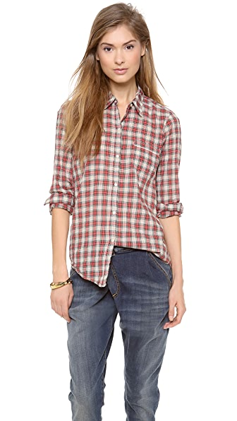 Nili Lotan NL Button Down Shirt