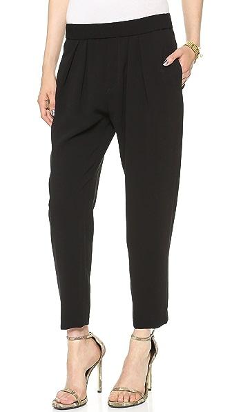Nili Lotan Cropped Slouchy Pants