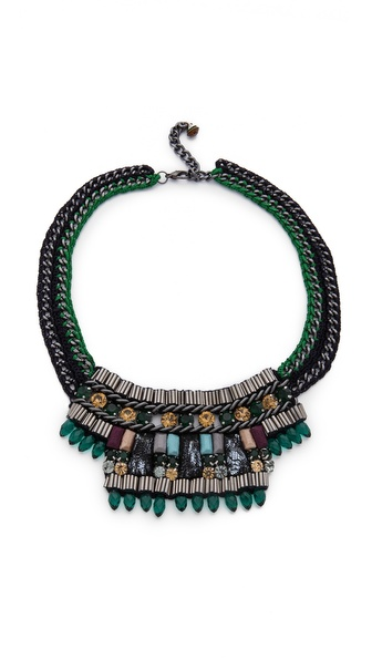 Nocturne Poly Emerald Necklace