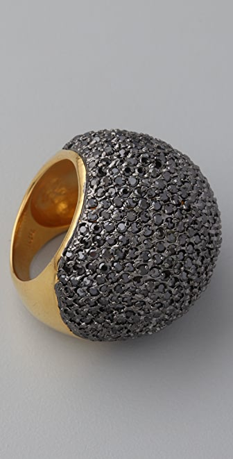 Noir Jewelry Crystal Dome Ring