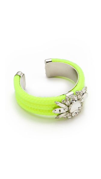 Noir Jewelry Neon Crystal Cuff