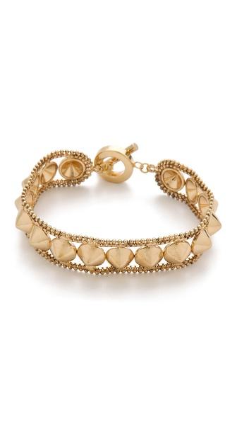 Noir Jewelry Noir for L.A.M.B. Cone Bracelet