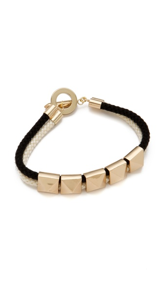 Noir Jewelry Noir for L.A.M.B. Pyramid Stations Bracelet