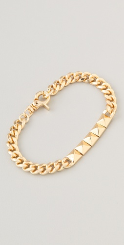Noir Jewelry Pyramid ID Bracelet