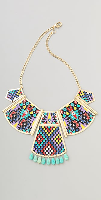 Noir Jewelry Hacienda Statement Necklace