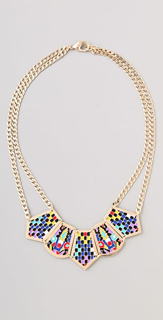 Noir Jewelry Short Hacienda Necklace