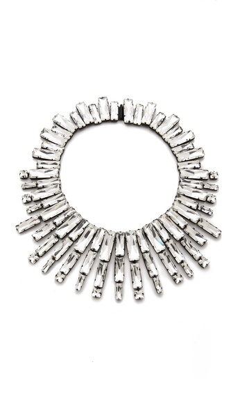 Noir Jewelry Nightfall Statement Collar