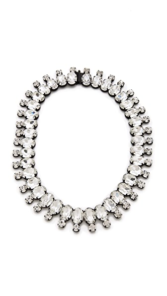 Noir Jewelry Nightfall Crystal Necklace
