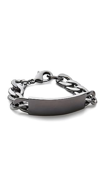 Noir Jewelry Classic ID Bracelet