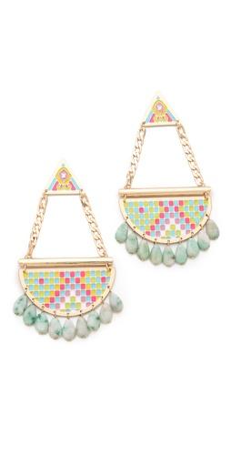 Noir Jewelry Pastel Hacienda Chandelier Earrings