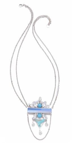 Noir Jewelry Barbados Bar Necklace