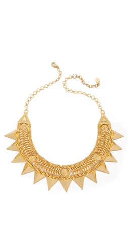 Noir Jewelry Darjeeling Spiked Necklace