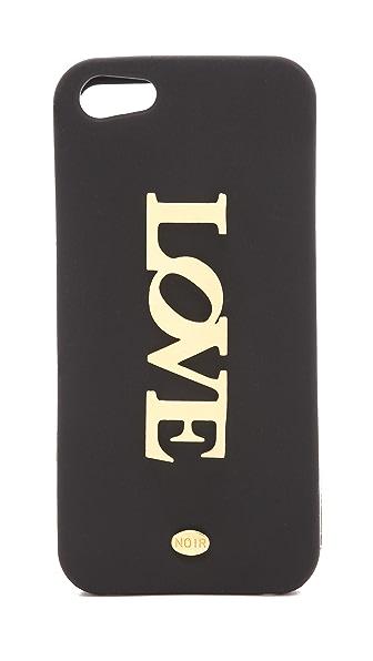 Noir Jewelry Love iPhone 5 Case