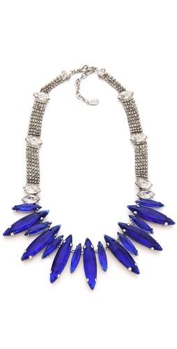 Noir Jewelry Gem Necklace