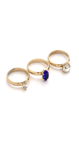 Noir Jewelry Stacked Ring Trio