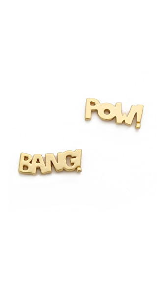 Noir Jewelry Bang Pow Earrings