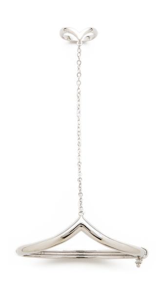 Noir Jewelry Simple Hand Chain