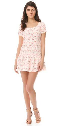 Nonoo Monica Flamingo Dress