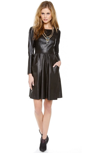 Nonoo Leather Dress