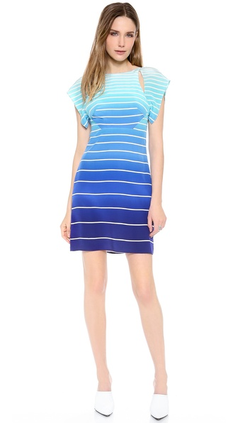 Nonoo Hanna Open Back Stripe Dress