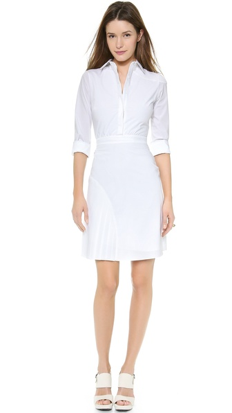 Nonoo Pleated Shirtdress