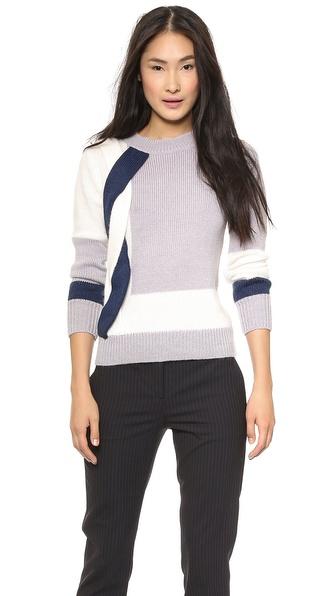 Nonoo Braid Side Detail Sweater