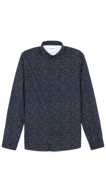 Norse Projects Emil Slub Print Shirt