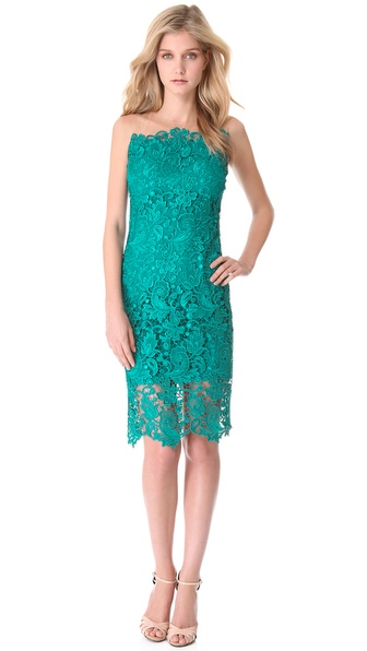 Notte by Marchesa Lace Sheath Cocktail Dress