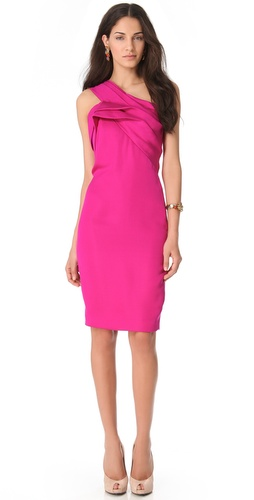 Notte by Marchesa One Shoulder Barathia Dress